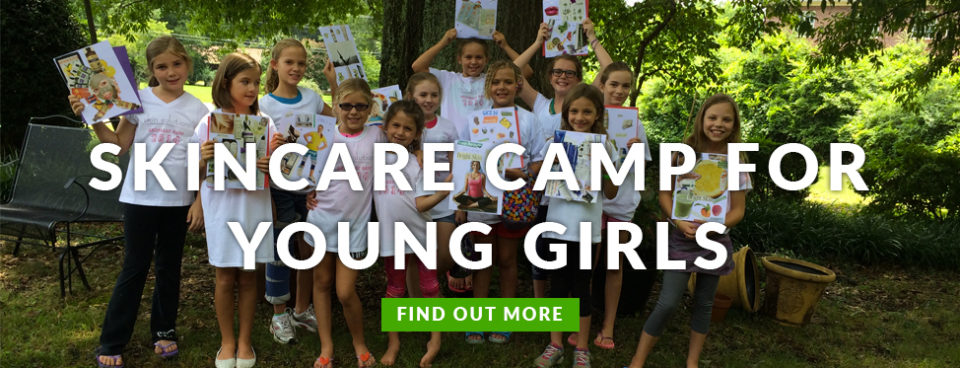 Skincare Camp for Young Girls